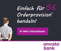 Aktion für Neukunden der OnVista Bank mit der Euro Akademie